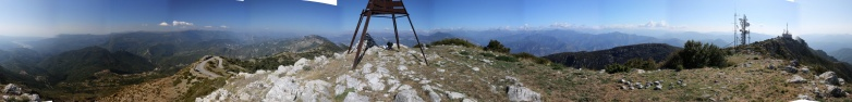 Mont Vial F/AM-461 360° panorama