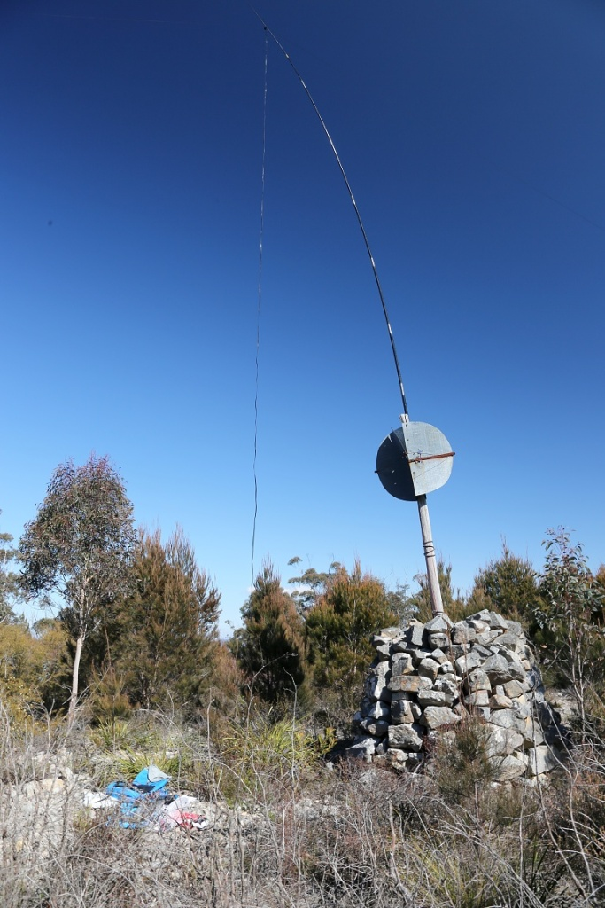Antenna on Mt Marulan VK2/ST-039